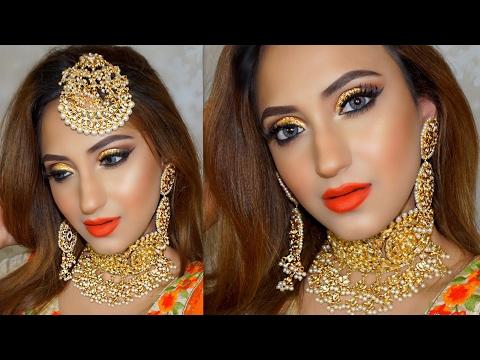 COMPLETE INDIAN BRIDAL MAKEUP