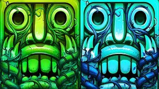 Temple Run 2 Lost Jungle VS Frozen Shadows Android Gameplay #3