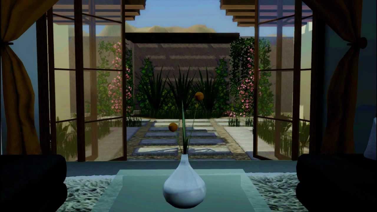 Stylist And Luxury Arizona Home And Garden Show.  Sims 3 Modern Arizona House HD YouTube