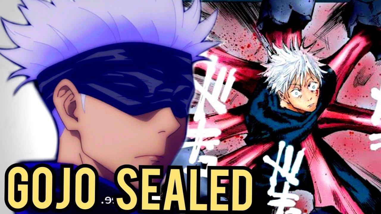 Satoru Gojo Sealed In Prison Realm Jujutsu Kaisen Jujutsu Kaisen Satoru Gojo Sealed In Prison Realm Youtube