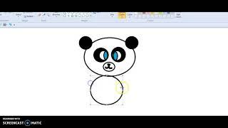 Ma version de PerfectPanda82 AJ dessin animé panda