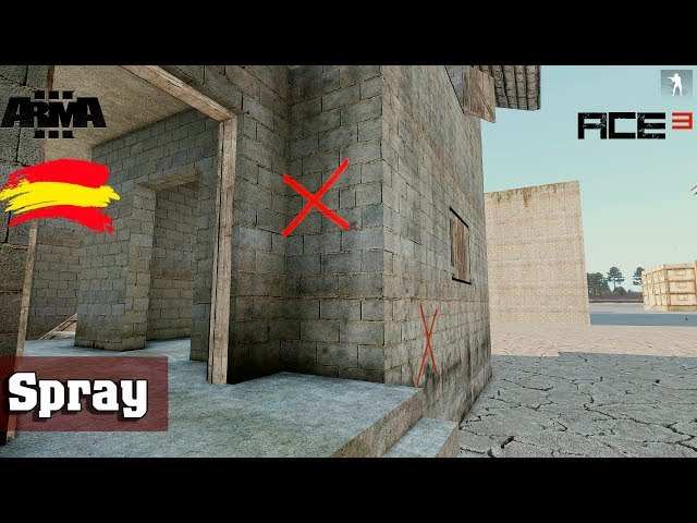 Arma 3 |  Spray | ACE