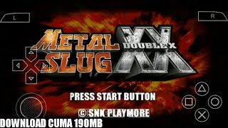 Cara Download Game Metal Slug XX PPSSPP Android