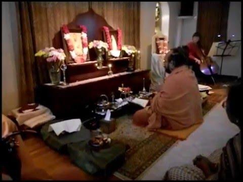 Vivekananda Birthday Puja Part 1 1 31 2016