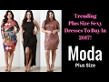 Plus-Size Cocktail & Party Sexy Dresses For Women - Vestidos Plus Size Outfits Fiesta Para Gorditas