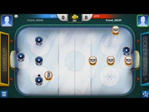 Hockey Stars (by Miniclip.com) - sport game for android - gameplay.