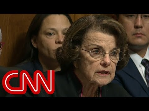 Feinstein: I did not hide Ford's allegations