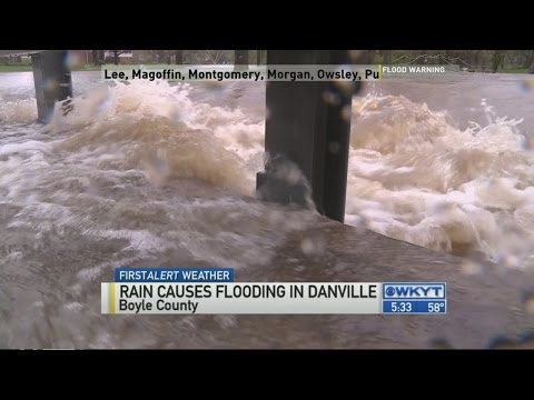 Boyle County flooding