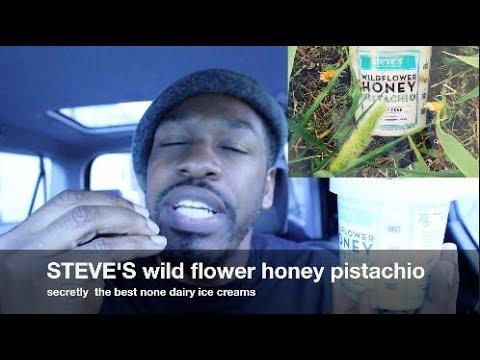 Steve's Ice Cream Wildflower Honey Pistachio