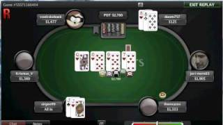 worst online poker bad beat in history