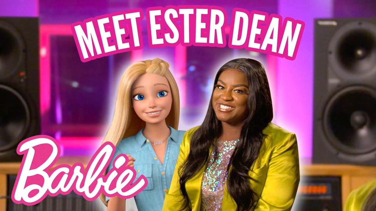 @Barbie | 🎤 Barbie Interviews Ester Dean, Song Machine! 🎼🌟