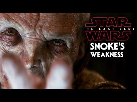 Download Youtube: Star Wars The Last Jedi Trailer - Snoke's Weakness & Downfall