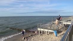 W Sarbinowie plaża i promenada
