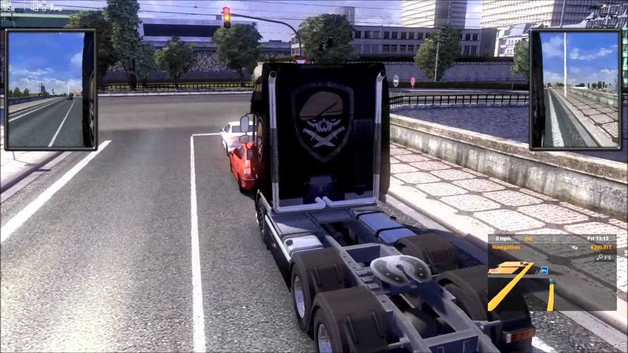 Euro Truck Simulator 2 : DAF XF 105 705HP Custom W/ Real Engine Sound Mod  (updated)