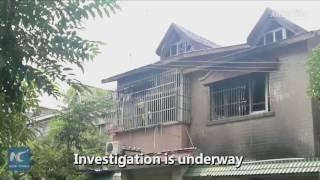 بالفيديو| مقتل 22 شخصا إثر حريق في منزل بالصين