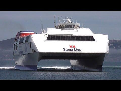 World's Largest Fast Ferry - HSS 1500 Class Stena Explorer