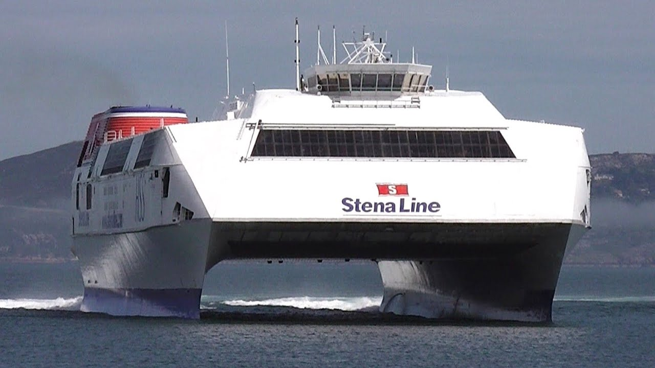 World's Largest Fast Ferry - HSS 1500 Class Stena Explorer ...