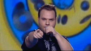 Μπάμπης Νικολάτος - Are you gonna be my girl? | The Voice of Greece - Blind Auditions (S02E06)