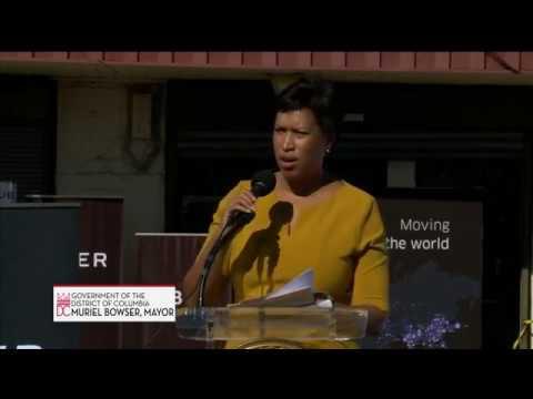 Mayor Bowser Celebrates Uber Greenlight Hub in Ward 7, 10/19/17