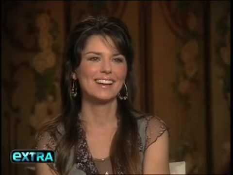Shania Twain & Mark McGrath - Interview - ExtraTV 2004