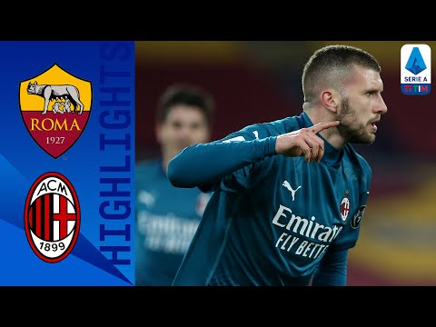 Roma 1-2 Milan | Milan keep the pressure on Inter with a big away win at Roma | Serie A TIM