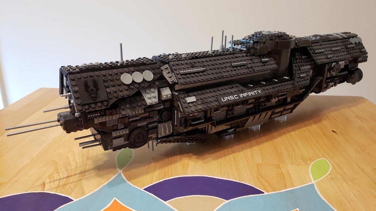 Halo Mega Construx UNSC Infinity Set
