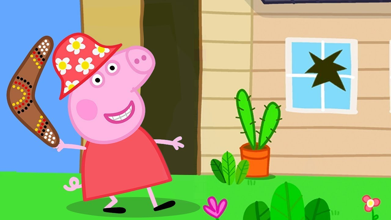 Peppa Pig Official Channel Peppa Pig Throws A Boomerang