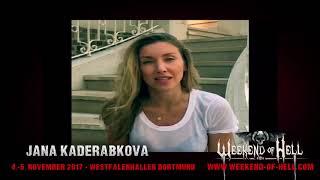 jana Kaderabkova interview