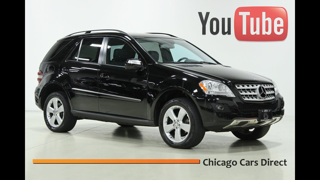 Chicago cars direct presents a 2009 mercedes benz ml350 4matic awd black cashmere 497721