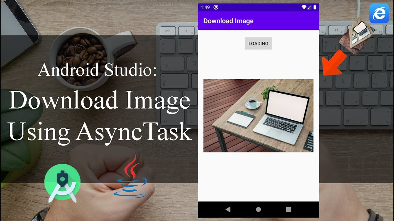 How to download image with AsyncTask - Android Tutorial