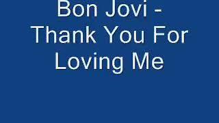 Album Cover #bonjovi...thank.youforlovingme..#%...mucic..fideo..