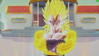 Dragon Ball Xenoverse PC (144 FPS) Golden Super Saiyan 4 Vegeta Gameplay