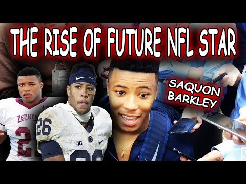 The UNLIKELY RISE of Saquon Barkley!!!