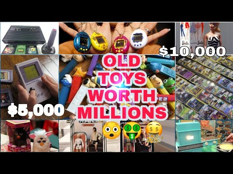 List of Old Toys worth Money