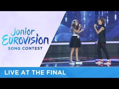 Shir & Tim - Follow My Heart (Israel) LIVE Junior Eurovision 2016