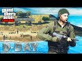 OMAHA BEACH IN GTA ONLINE #2 NEW! (D-DAY)