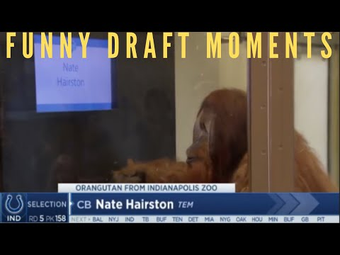 NFL FUNNIEST DRAFT MOMENTS