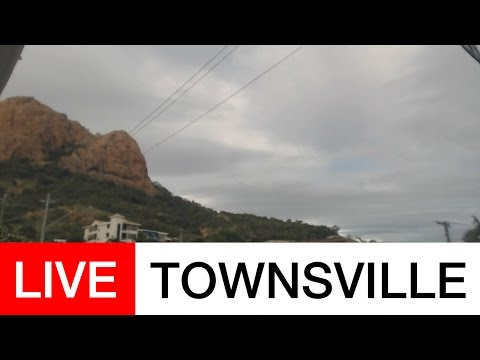 Castle Hill, Townsville - Tropical Cyclone Debbie Live Stream - March 27th-28th 2017