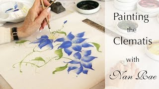 Painting the Clematis