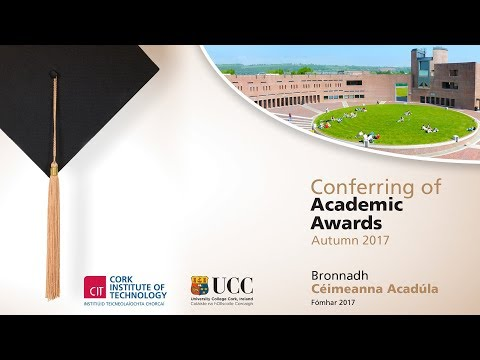 CIT & UCC Joint Conferring Ceremony - Friday 6:00pm