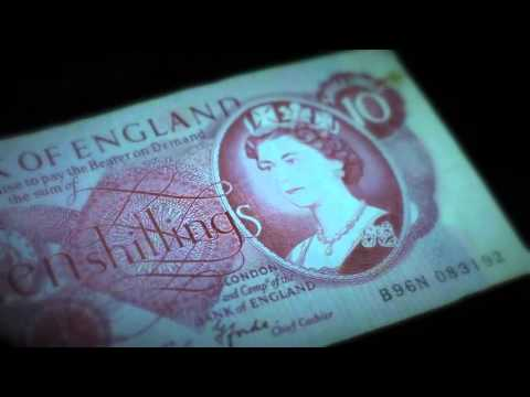 ASMR - Old and New British Notes - Softly Whispered