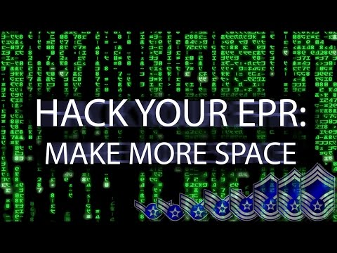 Hack Your EPR: Make More Space