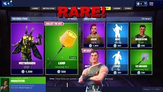 Fortnite Item Shop [November 29th] RARE! Devastator skin!