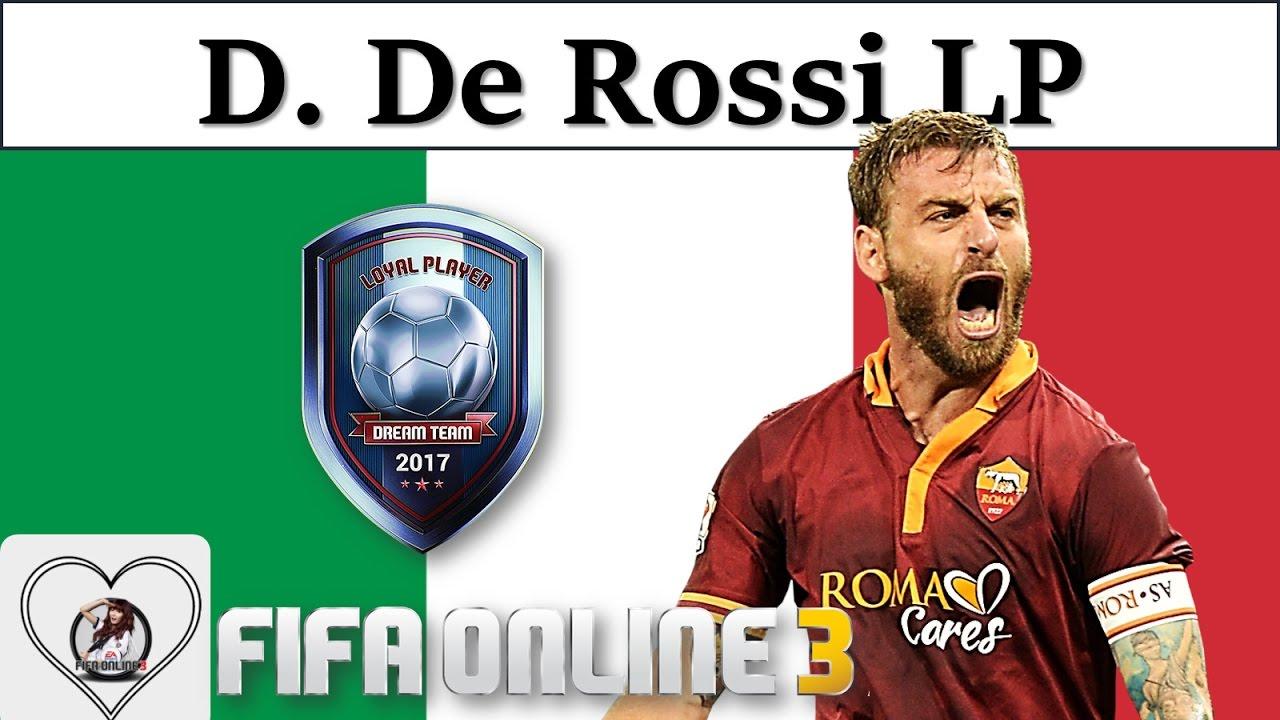 "I Love FO3 | Daniele De Rossi LP Review Fifa Online 3 New Engine 2017: Giãi Mã ""Chiến Binh"" LP"