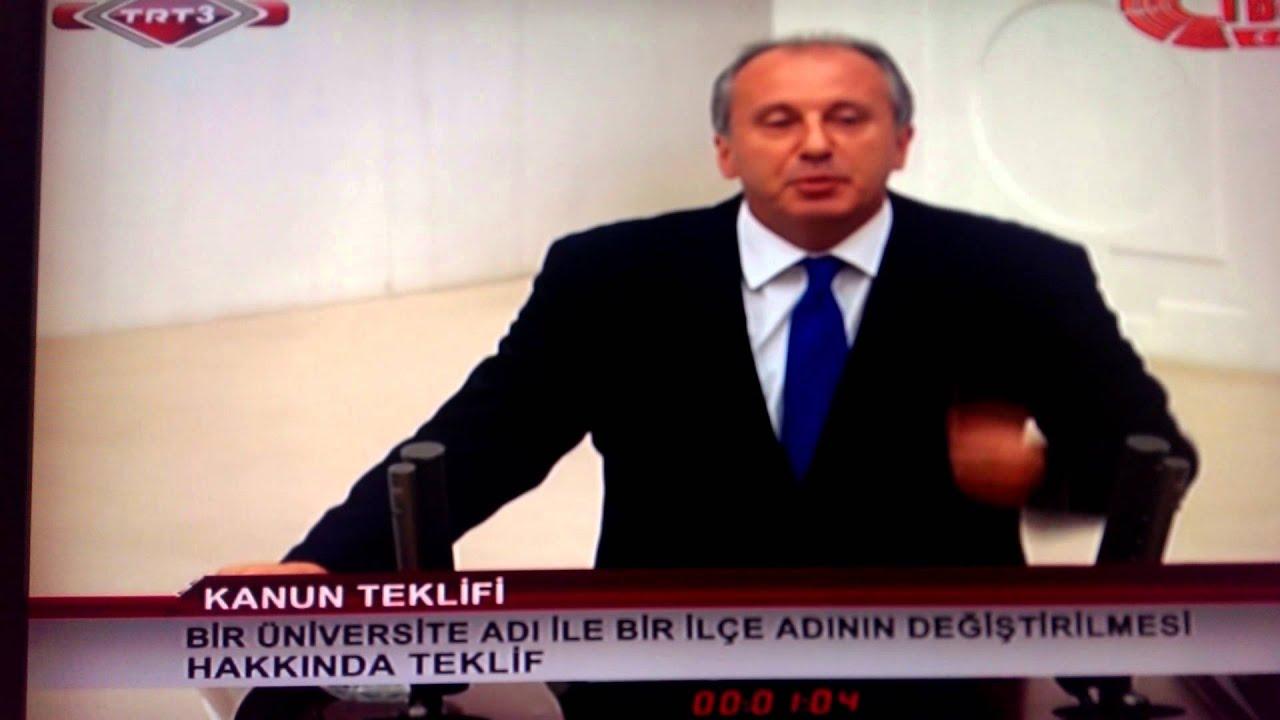 Muharrem İnce konuşması ve meclis başkanı Meral Akşener