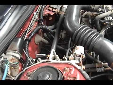 1995 Subaru Legacy - full DIY: manual transmission oil change - YouTube