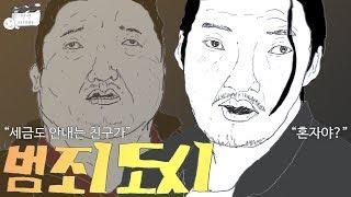 """범죄도시 장첸, 마석도에 """"혼자야?"""""""