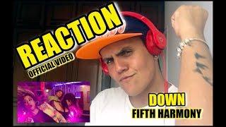 Video Fifth Harmony - Down ft. Gucci Mane   REAÇÃO (Official Video) download MP3, 3GP, MP4, WEBM, AVI, FLV Januari 2018