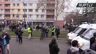 Acte 56 : les Gilets jaunes dans la rue à Paris dans un contexte de grève