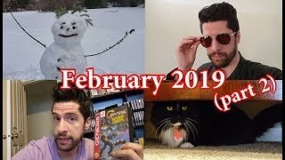 February 2019 - Vlog/Journal (Part 2)